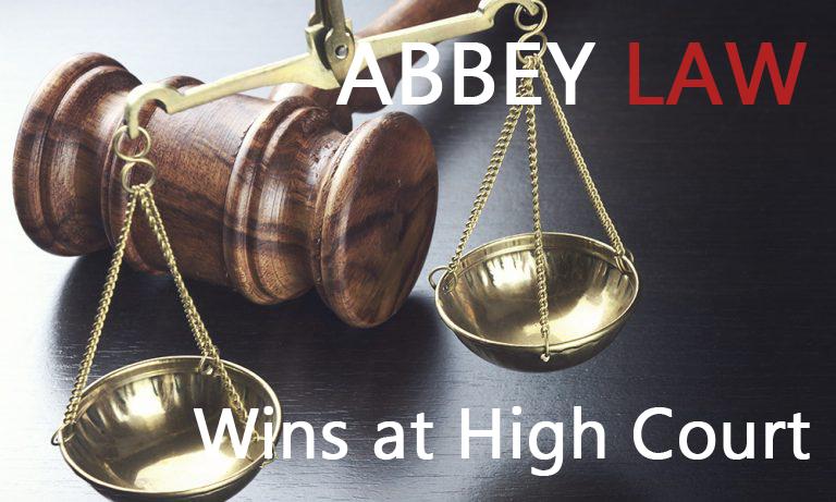Abbey Law Wins